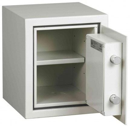 Dudley Harlech Lite S2 Fire Security Safe Size 00 - door open