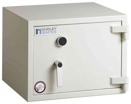 Dudley Harlech Lite S2 Laptop Fire Security Safe Size 0 - door closed