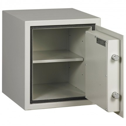 Dudley Harlech Lite S2 Fire Security Safe Size 1 - door open