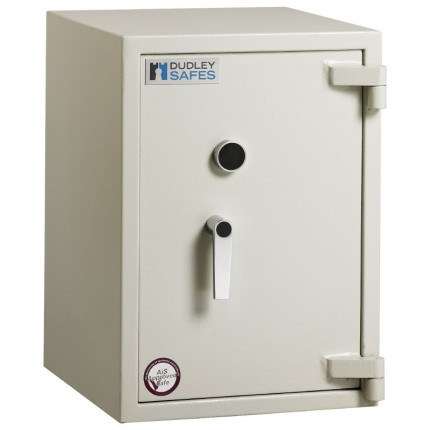 Dudley Harlech Lite S2 Fire Security Safe Size 2  - door closed