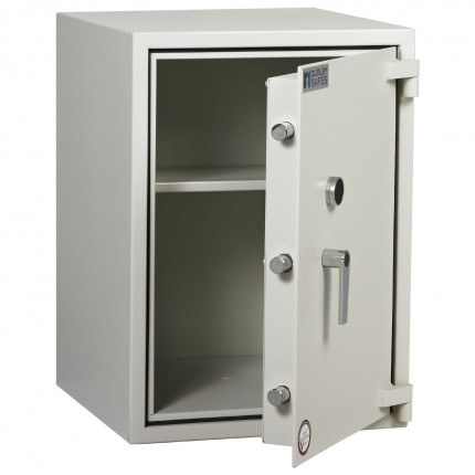 Dudley Harlech Lite Size 3 Insurance Rated Security Safe - door ajar