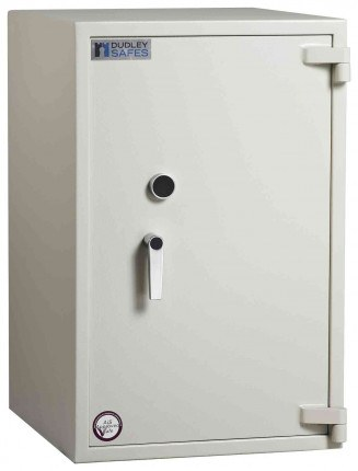 Dudley Harlech Lite Size 4 Insurance Rated Security Safe - door closed