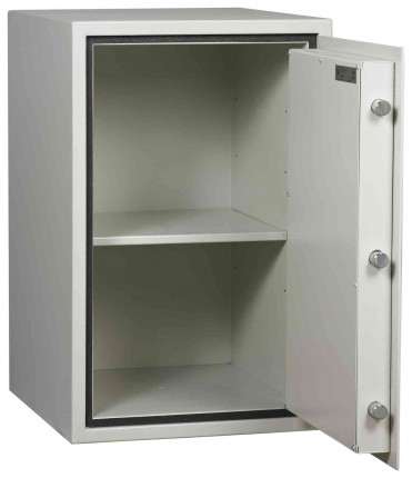 Dudley Harlech Lite Size 4 Insurance Rated Security Safe - door open