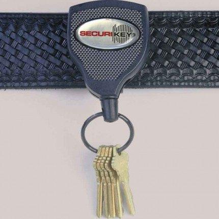 KEY-BAK 120cm Kevlar Cord Heavy Duty Clip On Belt Key Reel on belt