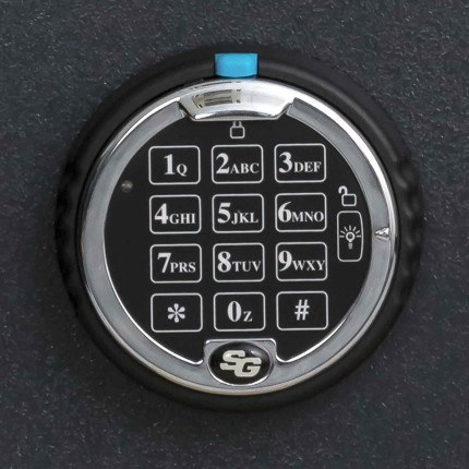 Chubbsafes Homesafe S2 20E 0 Showing S & G Digital Electronic Lock
