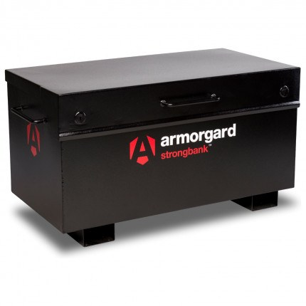 Armorgard Strongbank SB2 - the toughest and most secure Site Box- Closed