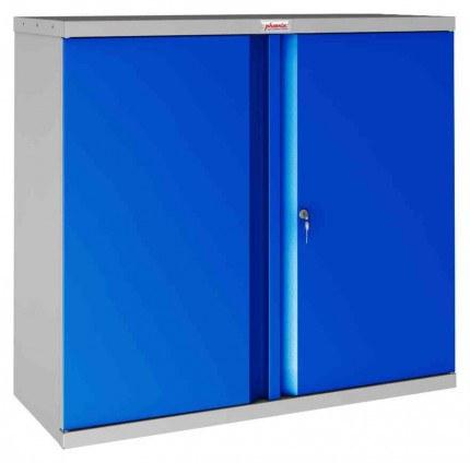 Phoenix SCL0891GBK 2 Door Blue Key Locking Steel Storage Cupboard