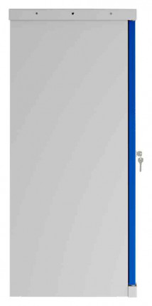 Phoenix SCL0891GBK 2 Door Blue Key Locking Steel Storage Cupboard side view
