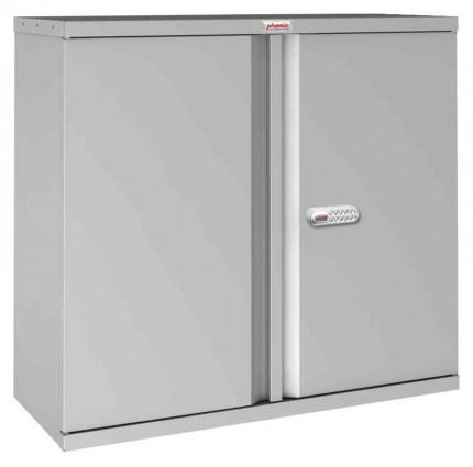 Phoenix SCL0891GGE 2 Door Grey Electronic Steel Storage Cupboard