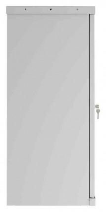 Phoenix SCL0891GGE 2 Door Grey Electronic Steel Storage Cupboard side view