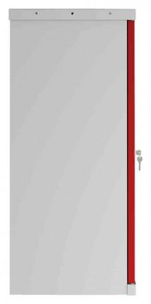 Phoenix SCL0891GRK 2 Door Red Key Locking Steel Storage Cupboard Side elevation