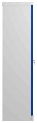 Phoenix SCL1491GBK 2 Door Blue Steel Storage Cupboard | side view