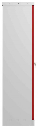 Phoenix SCL1491GRE Flat Packed Red Cupboard | Electronic - side view