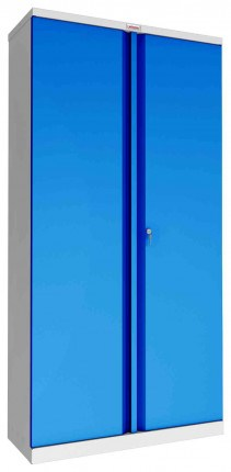 Phoenix SCL1891GBK 2 Door Blue Steel Storage Cupboard | Key Locking