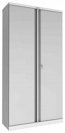 Phoenix SCL1891GGK 2 Door Grey Steel Cupboard | Key Locking | Closed