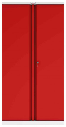 Phoenix SCL1891GRK 2 Door Red Steel Storage Cupboard | Key Locking