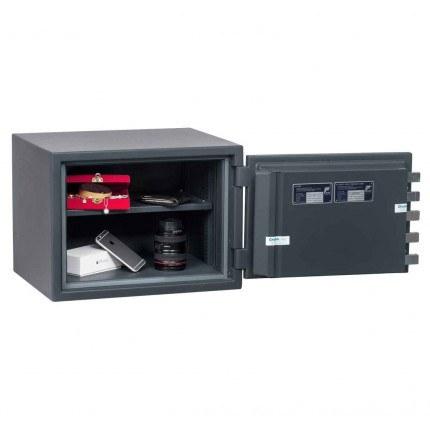 Chubbsafes Senator M1E Eurograde 1 Electronic Fire Safe door wide open