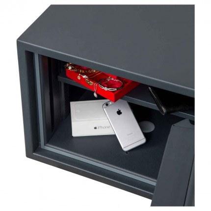 Chubbsafes Senator M2K Grade 1 Key Lock Fire Safe  close up