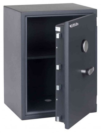 Chubbsafes Senator G1-M3K Grade 1 Key Lock Fire Security Safe - door ajar empty