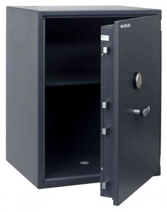 Chubbsafes Senator M4K Eurograde 1 Key Locking Fire Security Safe - door ajar