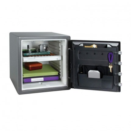 Sentry Safe SFW123GTF 1 HR USB Connected Fire Water Electronic Safe - door open