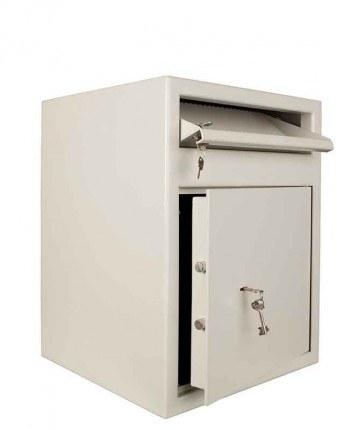 Muller MP2 Cash Deposit Safe Key Lock open