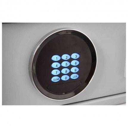 Securikey Euro Vault SFEV-DR12-TZE Electronic Wardrobe Safe - keypad illuminated when in use