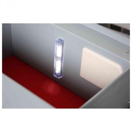 Securikey Euro Vault SFEV-DR12-TZE Electronic Wardrobe Safe - Automatic Light when open