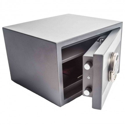 Antares 1E Small Electronic Security Safe - Ajar