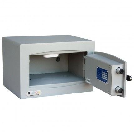 Key Security Safe - Securikey Mini Vault Gold FR 0K - door wide open
