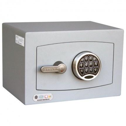Digital Security Safe - Securikey Mini Vault Gold FR 0E - door closed