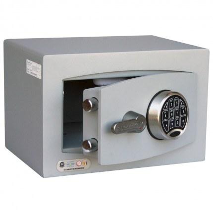 Digital Security Safe - Securikey Mini Vault Gold FR 0E - door ajar
