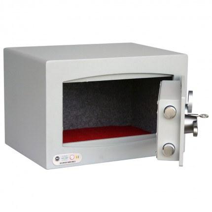Securikey SFMV0K-S Mini Vault Silver Key Lock Security Safe - door open