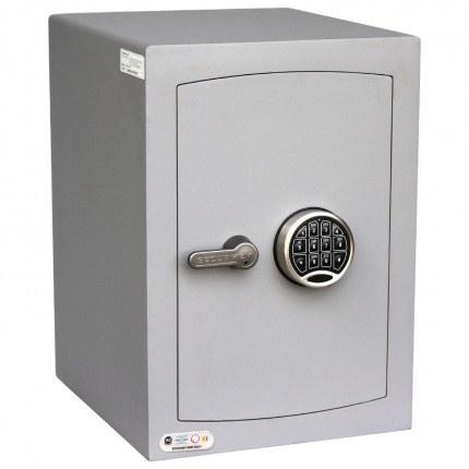 Securikey SFMV2ZE-S Mini Vault Silver Digital Security Safe door closed
