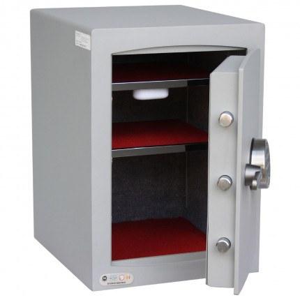 Securikey SFMV2ZE-S Mini Vault Silver Digital Security Safe door open