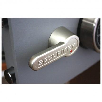 Digital Security Safe - Securikey Mini Vault Gold FR 0E - handle
