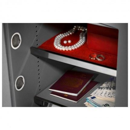 Key Security Safe - Securikey Mini Vault Gold FR 2K - jewellery soft finish shelf