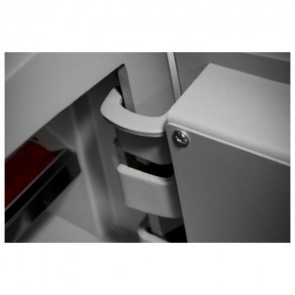 Digital Security Safe - Securikey Mini Vault Gold FR 2E showing hinges