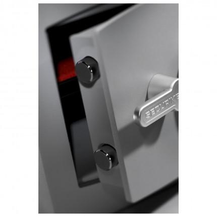 Digital Security Safe - Securikey Mini Vault Gold FR 2E showing bolts
