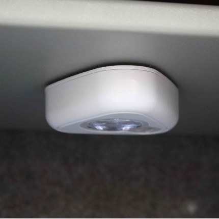 Digital Security Safe - Securikey Mini Vault Silver 2E - motion sensor light