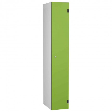 Probe ShockBox Overlay Laminate Door Locker Single Compartment in Lime