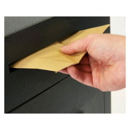 Chubbsafes Sigma Size 2 deposit slot in use