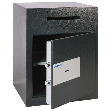 Sigma Safe Door slightly open showing two 25 millimeter locking bolts
