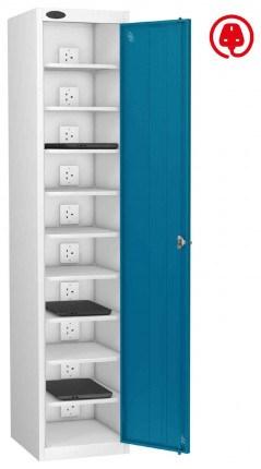 Laptop Charging Locker 10 Capacity- Probe Lapbox 10CH - blue
