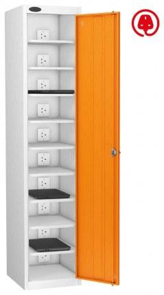 Laptop Charging Locker 10 Capacity- Probe Lapbox 10CH- orange