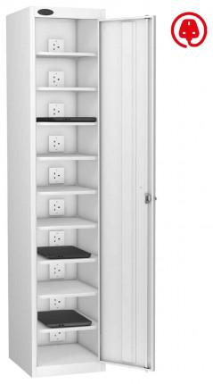 vLaptop Charging Locker 10 Capacity- Probe Lapbox 10CH - white