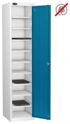 Probe Laptop Storage Locker 10 Compartments 380x460 - Blue