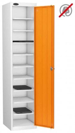 Probe Laptop Storage Locker 10 Compartments 380x460 - Orange