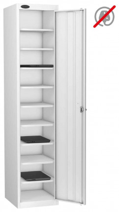 Probe Laptop Storage Locker 10 Compartments 380x460 - white