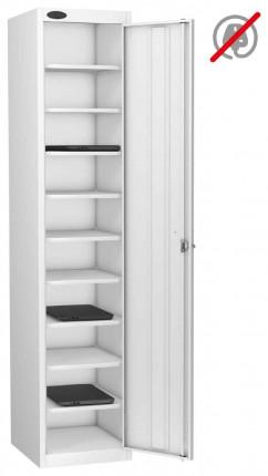 Probe Laptop Storage Locker 10 Compartments 380x460 - white